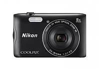 Компактный фотоаппарат Nikon Coolpix A300 Black (UA)