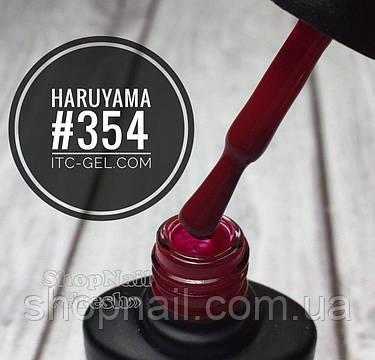 Гель-лак Haruyama №354 (красно-малиновый), 8 мл, фото 2