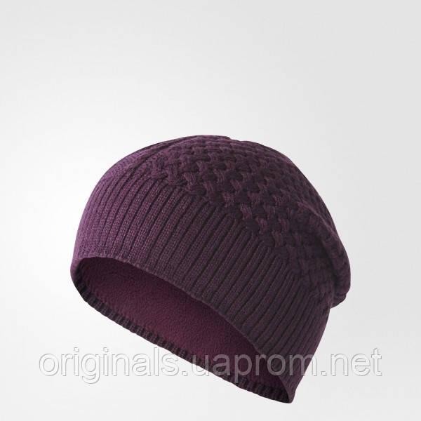 Теплая женская шапка Adidas Climaheat Lined BR9974