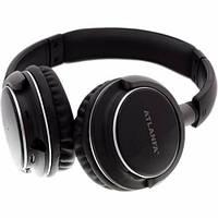 Беспроводные Bluetooth ( блютуз ) наушники Atlanfa AT-7612 + MP3 плеер и FM радио