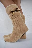 Сапожки-тапочки (35-36 37-38 39-40) — махра купить оптом и в Розницу в одессе 7км