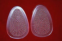 Гелевые вкладыши подушки (стельки) в обувь под стопу