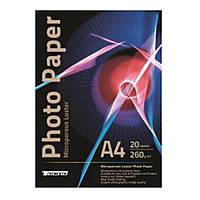 Фотобумага tecno photo paper superior lu a4 260 гр/м 20 штук luster (260 a4 lu cp20)