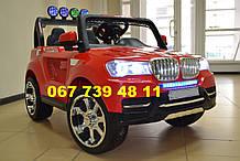 Детский электромобиль BMW М 3118 красная
