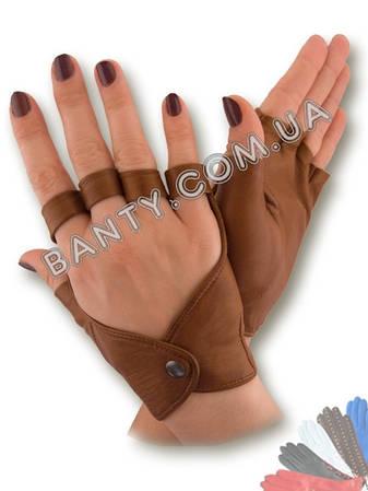 Женские перчатки без пальцев модель 243, фото 2
