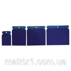 Набір шпателів японських пластмасових, 50-75-100-120 мм, 4 шт.// SPARTA