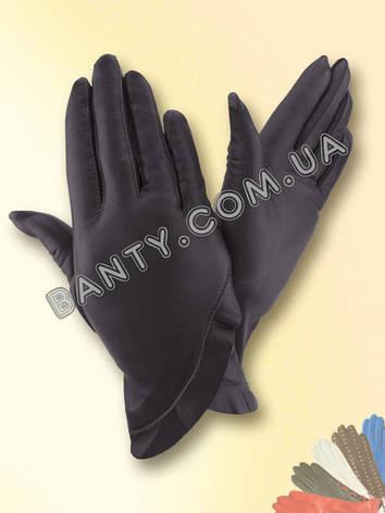Женские кожаные перчатки без подкладки Модель 301, фото 2
