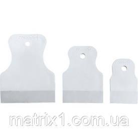 Набір шпателів 40-60-80 мм, біла гума, 3 шт.//МТХ