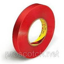 3M™ 9088FL Двухсторонняя клейкая лента (скотч)  6мм х 10м, толщ. 0,205мм, фото 3
