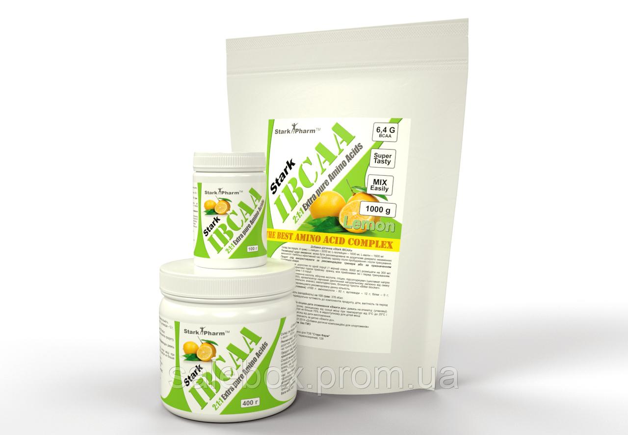BCAA со вкусом Лимон 250 грамм /БЦАА Старк Фарм Лимон 250г