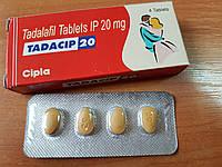 Мужской возбудитель Сиалис Tadacip 20 мг, 4 таблетки
