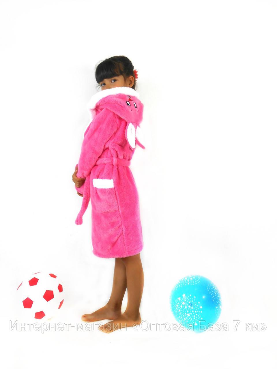 Халат детский (90-98, 100-110, 120-125) — махра купить оптом и в Розницу в одессе 7км - Интернет-магазин «Оптовая База 7 км» в Одессе