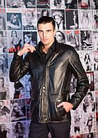 Куртка удлиненная, черная