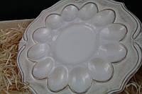 Тарелка для яиц керамическая Роман 350мм