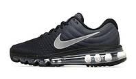 Мужские кроссовки Nike Air Max 2017 Black Grey, фото 1