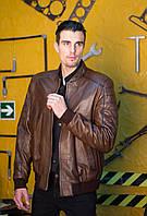 Куртка кожаная на резинке, фото 1