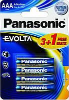 Батарейки PANASONIC EVOLTA LR03(AAA)