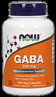 Now Gaba 500 mg 100 veg caps