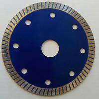 Алмазный Тонкий диск, для резки керамической, плитки  ULTRA-SLIM-BLUE 105x1,2x7x20,0  чистый рез без сколов