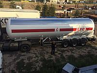 Полуприцеп LPG для перевозки газа