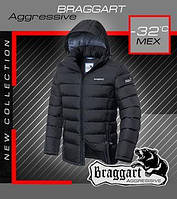 Куртка эксклюзивная с мехом Braggart