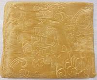 Плед покрывало микрофибра с принтом Песочный (двушка 180x200)