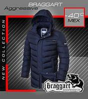 Комфортная длинная зимняя куртка