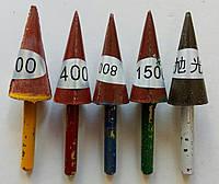 Набор полировальных фрез для полировки камня,  в труднодоступных местах 60/30x10/4x6/30 № 200,400,800,1500,Buf
