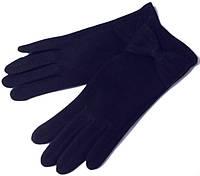 Перчатки трикотажные на меху с манжетом сенсорные размер 8,5