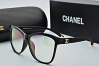 Оправа квадратная Chanel черная, фото 1