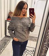 Свитер женский  (пр.-во Турция 40% шерсть, 10%мохер.50%акрил)