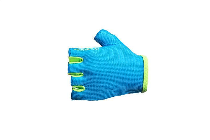 Велоперчатки PowerPlay 03-418 BLUE женские размер M
