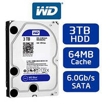 Western Digital 3 TB WD Blue SATA III 5400 RPM 64 MB