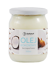 Кокосовое масло 500 г, рафинированное