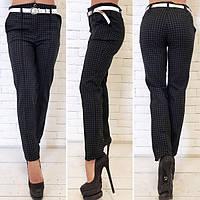 """Элегантные женские брюки 320 """"Алекс Классика Клетка"""""""