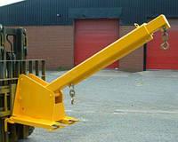 Телескопическая стрела-балка с изменяемым углом наклона