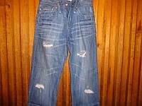 Мужские джинсы (рванка ) w 30 L34