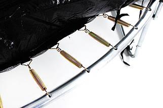 Батут SkyJump 12 фт., 374 см.з захисною сіткою та драбинкою -  КРАЩА ЦІНА!, фото 3