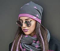 Комплект №184 шапка+ шарф, фото 1
