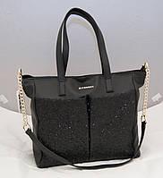 Женская сумка Givenchy с блестками, цвет черный Живанши