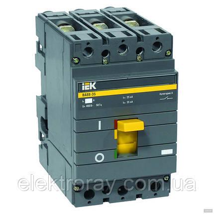 Автоматический выключатель ВА88-35Р 3Р 140-200А (1,0-2,0 кА) 35кА ИЭК , фото 2