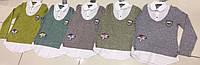 Кофта-обманка, трикотаж/коттон (8-14 лет) — купить оптом от производителя недорого в Одессесо склада 7км