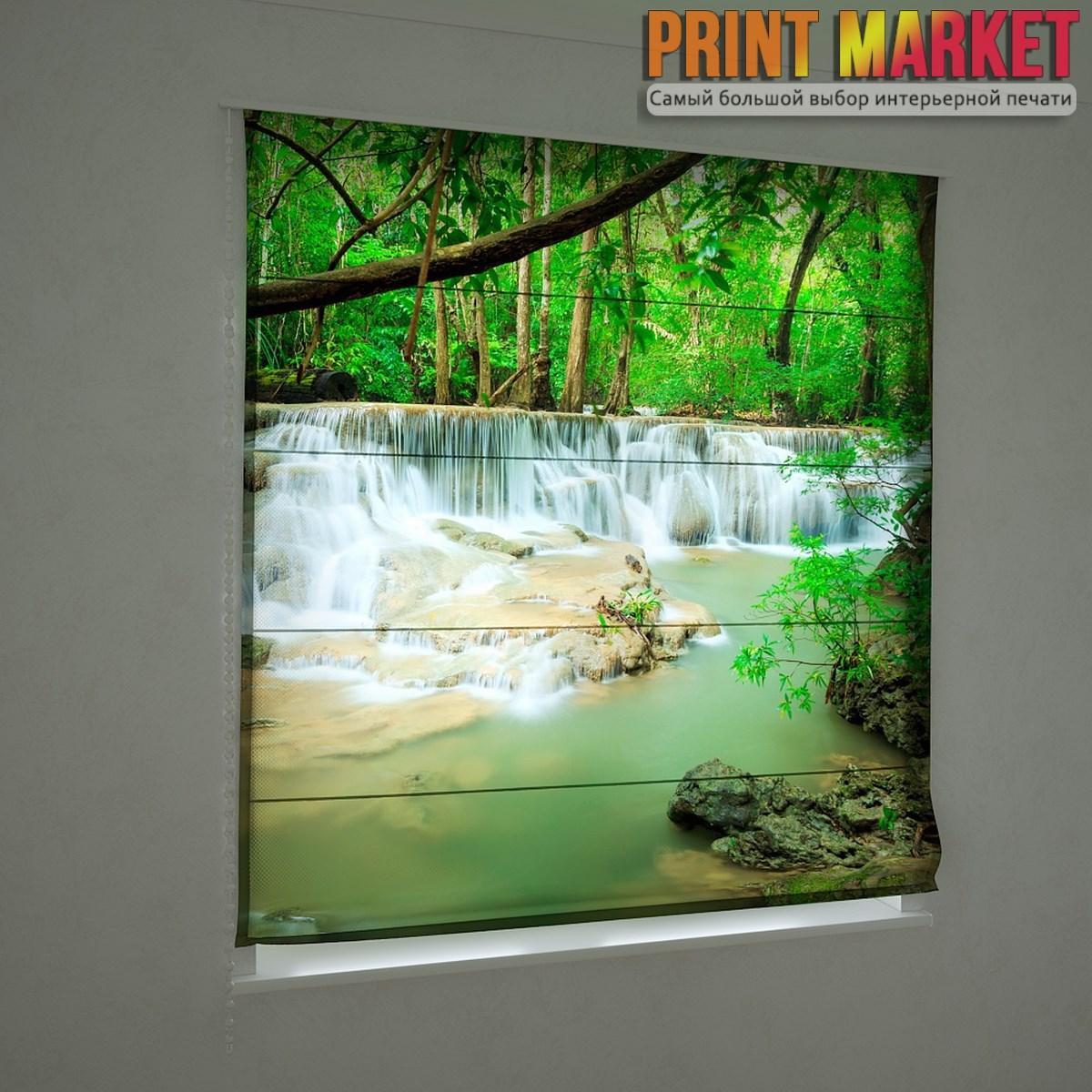 Фотошторы римские маленький водопад
