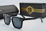 Солнцезащитные очки прямоугольные  Dita Von Teese черные