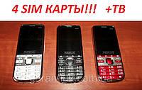 Nokia 6700 на 4 Sim TV с 4-мя активными сим-картами +ТВ