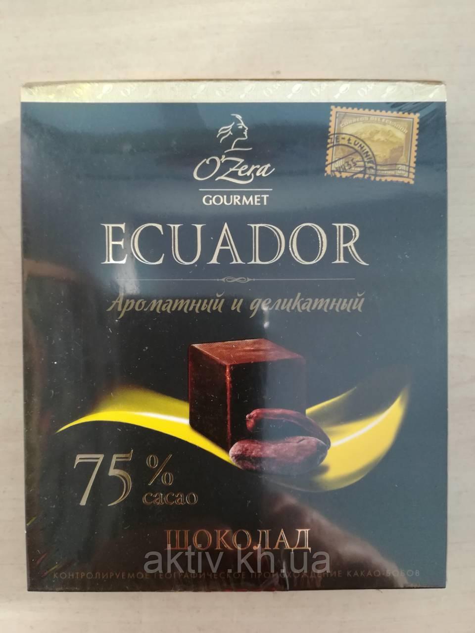 Шоколад Ozera Ecuador 90 гр