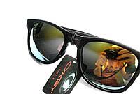 Очки Oakley Ray Ban Солнцезащитные. качественная оправа полный набор