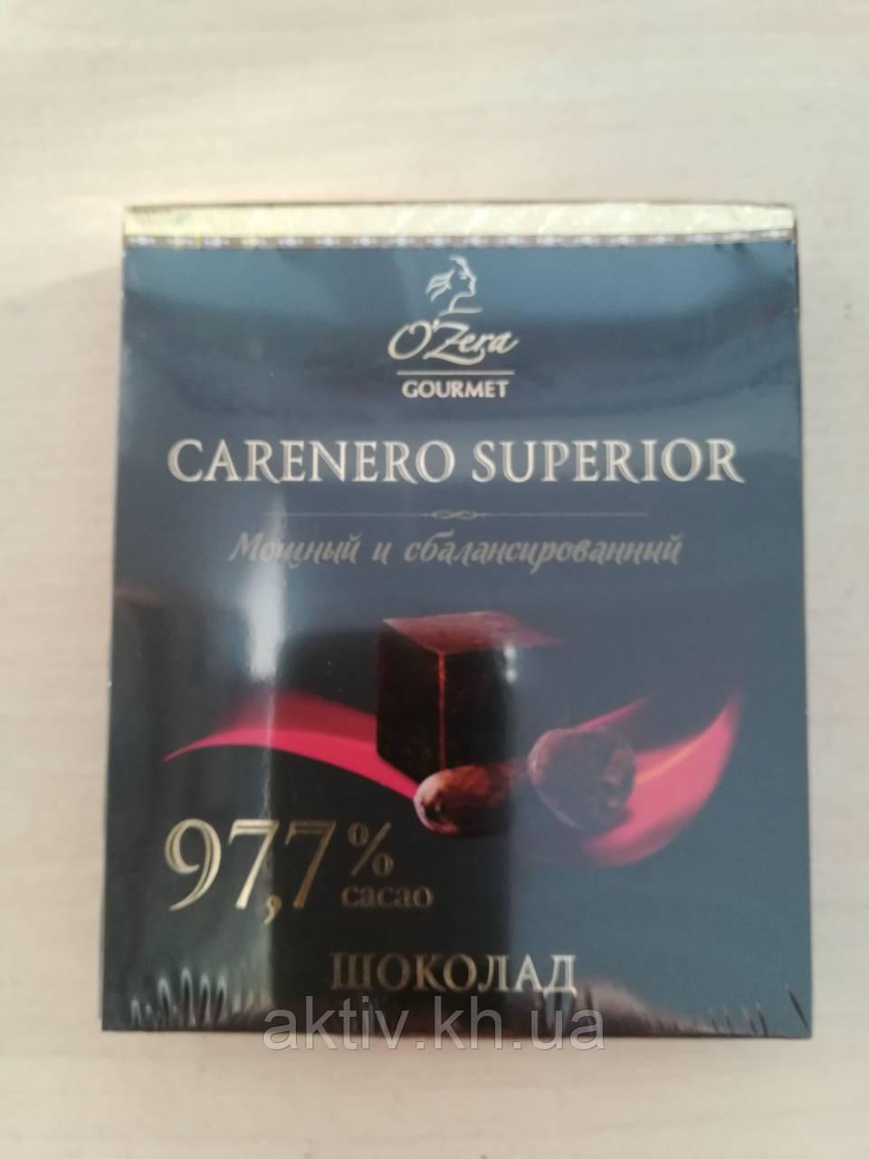 Шоколад Ozera Caranero 97,7% Superior 90 гр