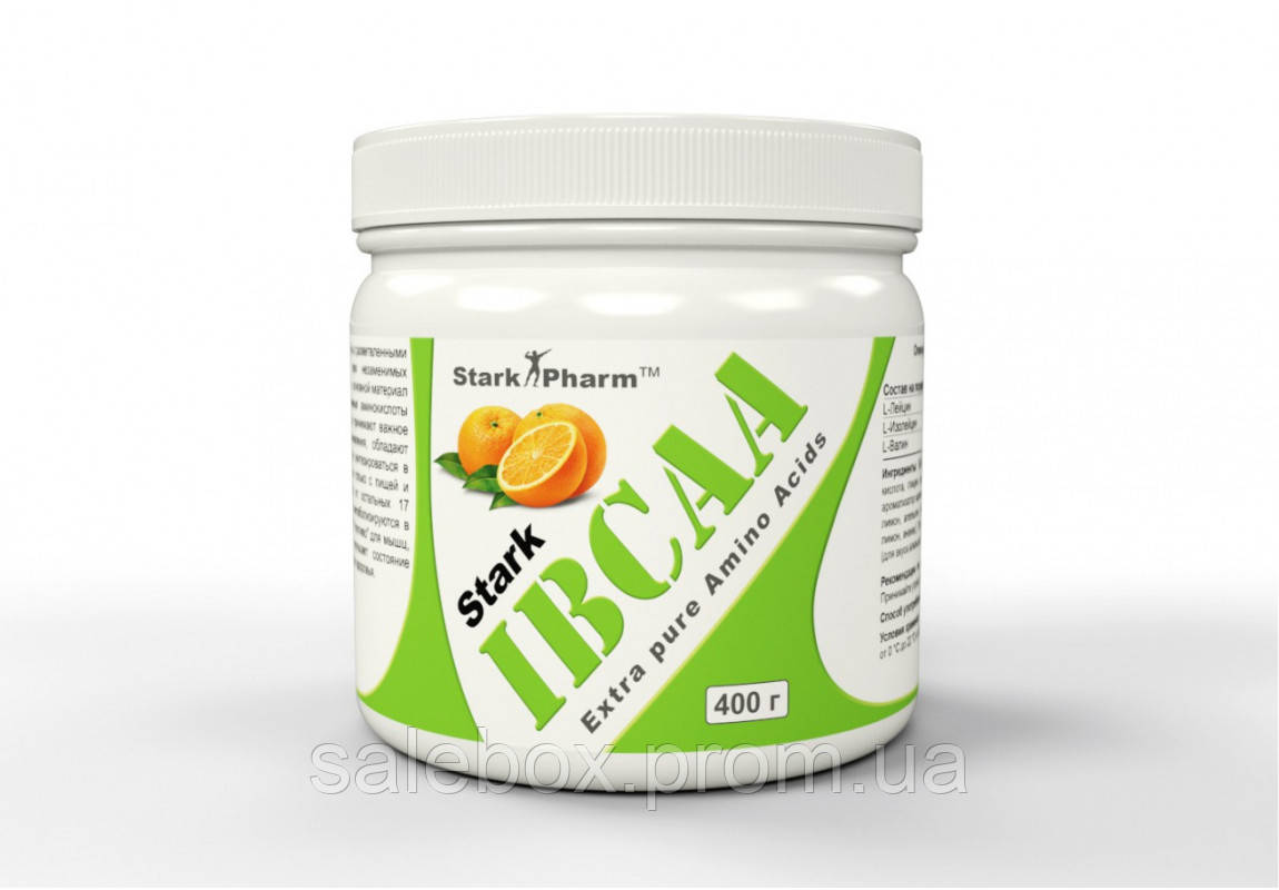 БЦАА Старк Фарм Апельсин 250г / BCAA Stark Pharm orange 250 грамм