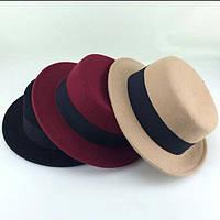 Шляпа Канотье Шапка Стильная Капелюх Головной убор
